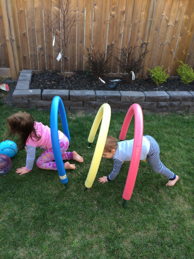 backyard obstacle course entertain kids on a dime
