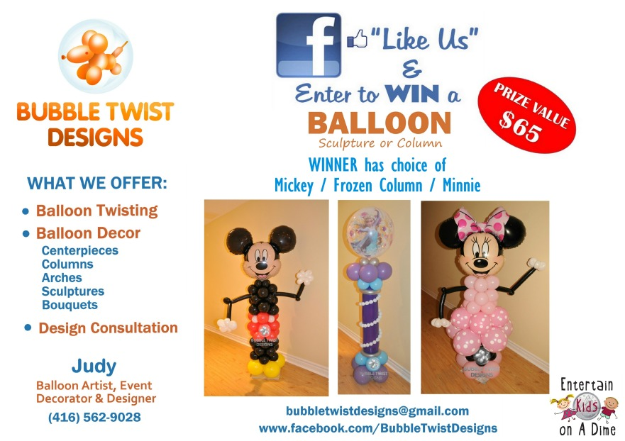 Bubble Twist Designs CONTEST ENTKIDSONADIME